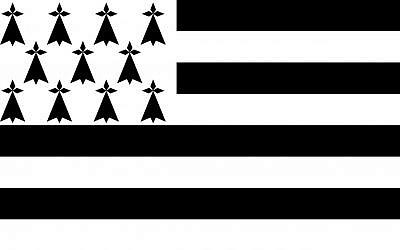 Drapeau de la Bretagne (Crédit: domaine public)