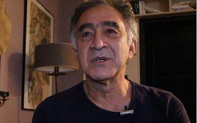 Le chorégraphe Ilan Zaoui chez lui en 2014 (Crédit: capture d'écran Ciné Zooms/Youtube)