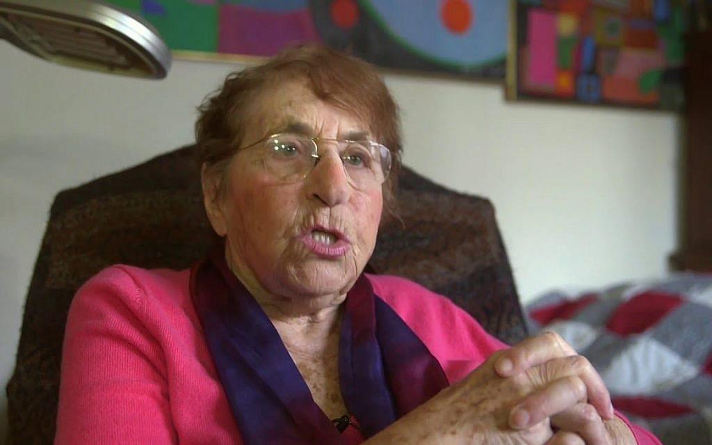 Eva Deutsch Costabel (Capture d'écran YouTube)