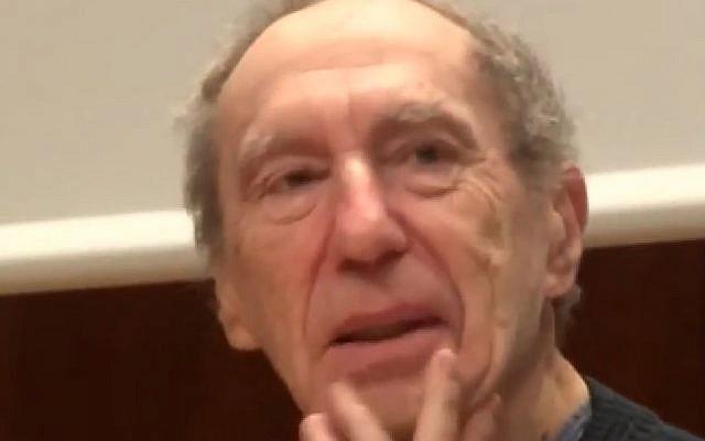 L'universitaire Pierre Pachet est décédé le 21 juin 2016 à Paris (Crédit: capture d'écran Jean-Paul Hirsh/Youtube)