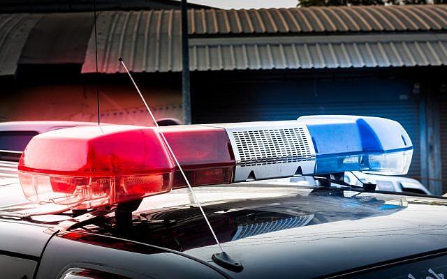 Illustration d'une voiture de police (Crédit : Shutterstock)