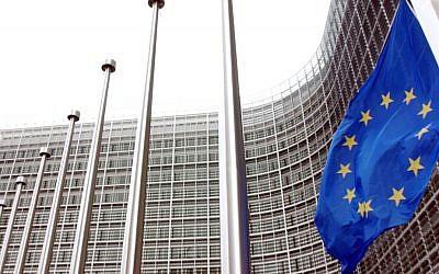 Le siège de l'Union européenne à Bruxelles (Crédit : AP Photo/Virginia Mayo)
