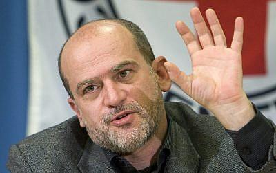 Jacques de Maio, le 30 mars 2009 à Genève. (AP Photo/Keystone, Salvatore Di Nolfi)