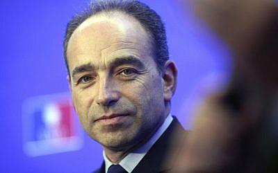 Jean François Copé, en 2012. (Crédit : AP/Thibault Camus)