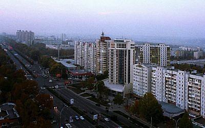 Une vue de Chisinau, en Moldavie (Crédit :  CC BY-SA Wikimedia Commons)