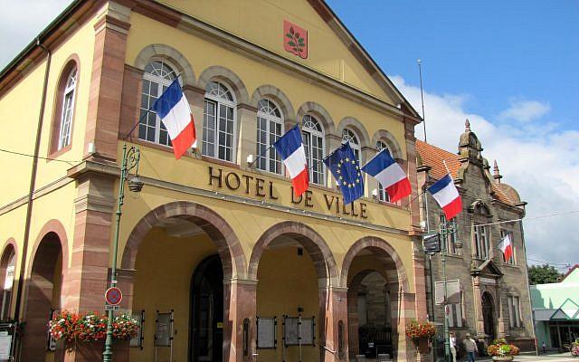 L'Hôtel de ville de Brumath. (Crédit : CC BY-SA 4.0)