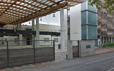 Lycée professionnel Tony Garnier à Bron (Crédit : Google Earth)