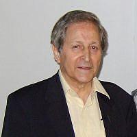 Claude Cohen-Tanoudji, prix Nobel de physique (Crédit : Amir Bernat/Wikimedia Commons)