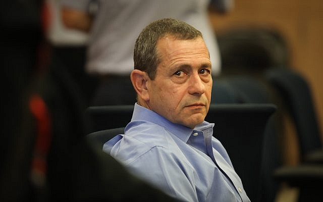 Le chef des services de sécurité du Shin Bet Nadav Argaman lors de la commission de la Défense et des Affaires étrangères à la Knesset, le 6 novembre 2018. (Crédit : Hadas Parush/Flash90)