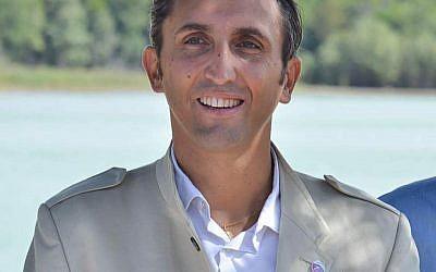 Julien Aubert, député LR en 2017. (Crédit : Oliver Voltaire via Wikimedia Commons)