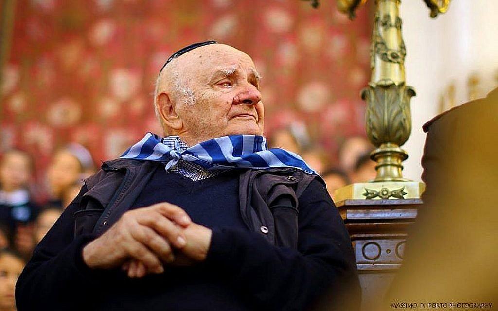 Lello Di Segni. (Crédit : Bureau de presse de la communauté juive de Rome)