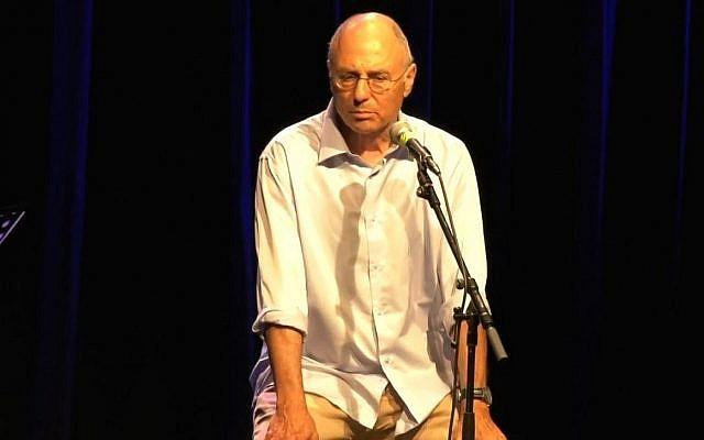 Capture d'écran d'une vidéo du metteur en scène et dramaturge israélien Miki Gurevich. (Youtube)