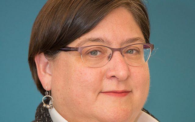 Le rabbin Hara Person, nommée à la tête de la conférence centrale des rabbins américains (CCAR) au mois de novembre 2018 (Crédit : autorisation CCAR via JTA)