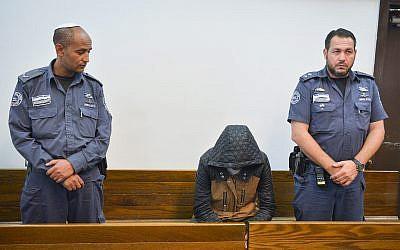 Tesfebarhan Tesfasion, ressortissant érythréen, arrêté pour le meurtre présumé de l'adolescente, fille de son ex-partenaire, le 28 novembre 2018. (Autorisation)