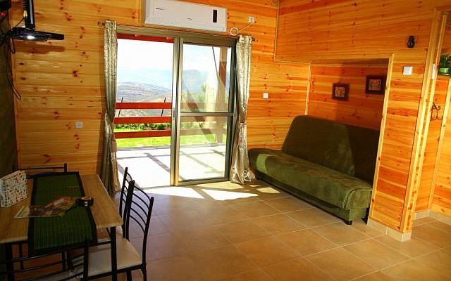 Une maison dans le nord de la Cisjordanie qui ne sera plus disponible à la location sur Airbnb. (Tourisme Samarie)