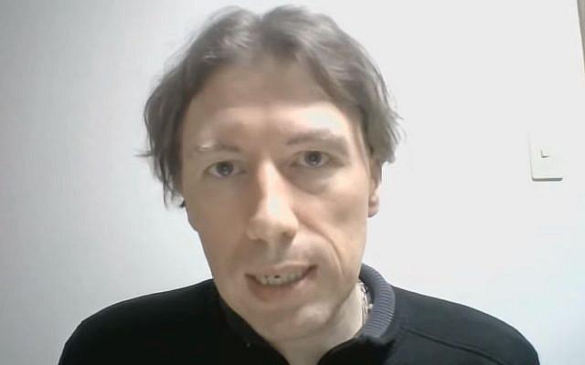 Boris Le Lay. (Crédit : Capture d'écran YouTube)
