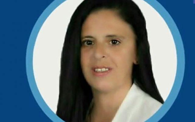 Catherine Lesné ex-candidate RN dans le Lot et Garonne (Crédit: capture d'écran FranceInfoTV)