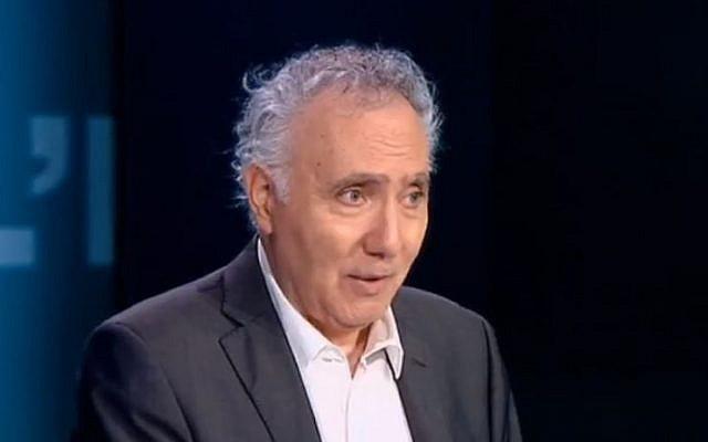 Alain Chouraqui. (Crédit : Capture d'écran France 24)