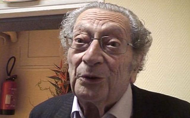 Le philosophe, théologien, écrivain et ancien député européen Gérard Israël s'est éteint le 7 novembre 2018 (Crédit: capture d'écran Marianne/Dailymotion)