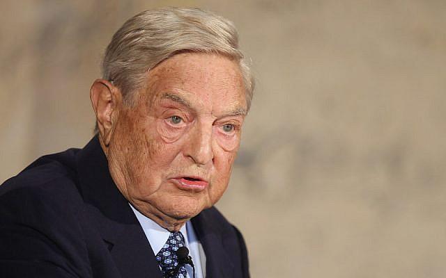 George Soros à Berlin, le 10 septembre 2012. (Crédit : Sean Gallup/Getty Images via JTA)