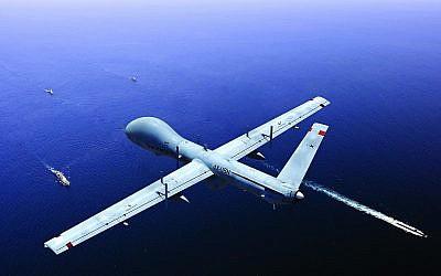 Le système de patrouille maritime Hermes 900 d'Elbit Systems Ltd. contribuera à la surveillance des côtes européennes (Crédit : autorisation)