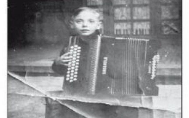 """Couverture du livre """"Histoire d'un enfant caché du Nord"""", de Maurice Baran-Marszak (Crédit: capture d'écran maurice-baran-marszak.iggybook.com)"""
