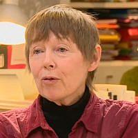 Nonna Mayer sur le plateau de Médiapart en 2015 (Crédit: capture d'écran Youtube/Médiapart)