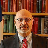 L'ambassadeur israélien en Ukraine Joel Lion (Crédit : Wikimedia Commons/Dovernewyork )