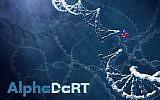 Une illustration de la façon dont une particule Alpha peut causer des ruptures irréparables dans l'ADN des cellules cancéreuses ; Alpha Tau Medical dit avoir développé une technologie dans laquelle ces particules alpha peuvent vivre assez longtemps pour détruire les cellules (Autorisation)