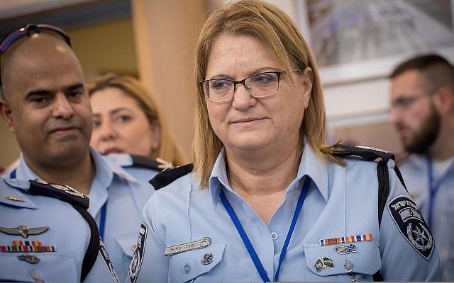 La vice-directrice du service des ressources humaines de la police israélienne Gila Gaziel à la Knesset, le 5 février 2018 (Crédit :  Miriam Alster/FLASH90)