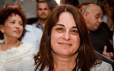 Rona Ramon, veuve du premier astronaute israélien Ilan Ramon, décédée dans un accident mortel à bord de la navette spatiale Columbia le 9 mai 2013. (Flash90)