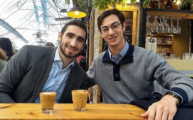 Noam Beltran (g) et Joseph Sokol (Crédit : autorisation)