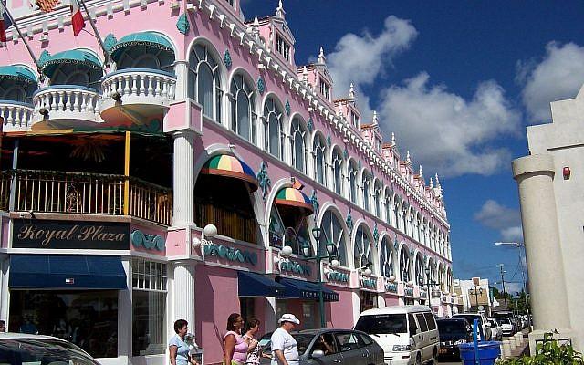"""Oranjestad, capitale d""""Aruba. (Crédit : Wikipedia/David et Magalie/CC BY)"""
