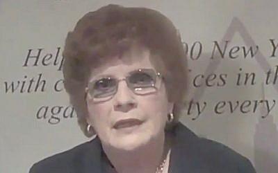 Karen Koslowitz (Capture d'écran : YouTube)