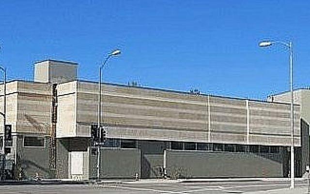 La synagogue Habad de North Hollywood. (Crédit : Google Maps)