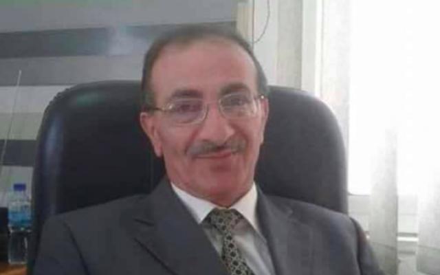 Hamdan al-Adra, 58 ans, d'Araba, près de Jénine. Il a été abattu alors qu'il aurait fait une tentative d'attaque à la voiture-bélier contre des soldats - un récit que la famille du Palestinien rejette (Capture d'écran : Twitter)