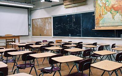 Illustration : une salle de classe. (Crédit : Pixabay)