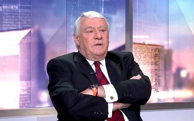 Claude Goasguen, député Les Républicains de la 14e circonscription de Paris. (Capture d'écran LCI)