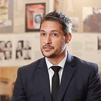 Karel Fracapane, responsable des contenus éducatifs à l'Unesco (Crédit: capture d'écran cristiam trujillo/Youtube)