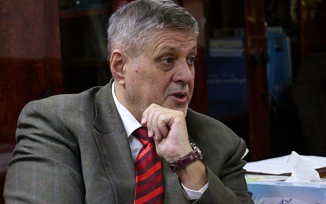 Jan Kubis nouveau coordonnateur spécial des Nations unies pour le Liban. (Crédit : Marwan IBRAHIM / AFP)