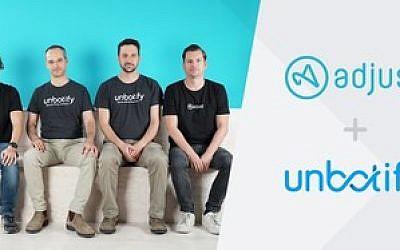 Adjust acquiert l'Israélien Unbotify, spécialisé en cyber-sécurité et AI, le 22 janvier 2019. (Autorisation)