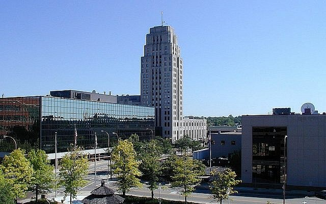 Centre ville de Battle Creek, Michigan ((Crédit : CC-BY battlecreekcvb /Wikimedia Commons)