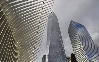 Le site du World Trade Center, le 9 janvier 2019. (Crédit : AP/Kathy Willens)