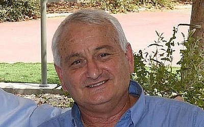 Alon Shuster, ancien chef du conseil régional Shaar Hanegev (Crédit : GPO - Mark Nayman)