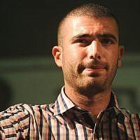 Le chanteur Omer Adam en concert à Modi'in le 28 août 2011. (Crédit : Jorge Novominsky/ Flash 90)