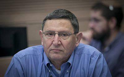 Le directeur général du ministère de la Défense, Udi Adam. (Autorisation)
