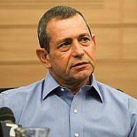 Nadav Argaman, chef du service de sécurité du Shin Bet, assiste à la réunion de la Commission de la défense et des affaires étrangères à la Knesset le 6 novembre 2018. (Hadas Parush/Flash90)