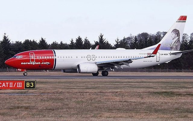 Illustration. LN-NGN Boeing 737-800 Norwegian Air Shuttle (Crédit : Mark Harkin/CC 2.0)
