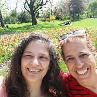 Lily Pereg (à gauche) et Pyrhia Sarusi, disparues à Mendoza, en Argentine, en janvier 2019. (Crédit : Facebook)