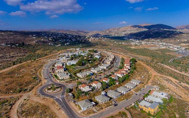 L'implantation de Rehelim. (Conseil régional de Samarie)